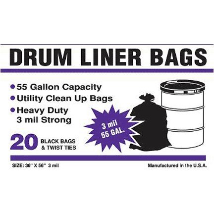 drum liners-heavy duty trash bags