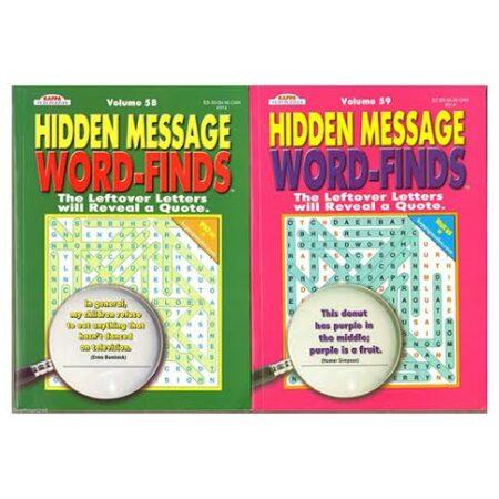 HiddenMessageWordFinds