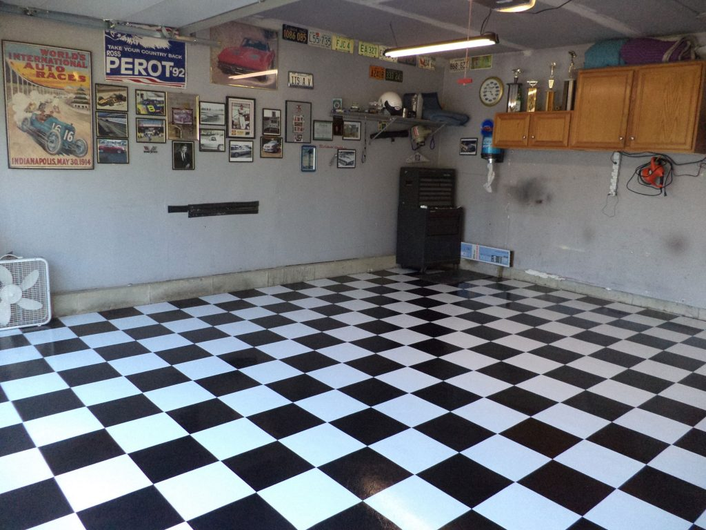 flooring for man cave
