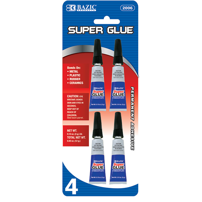 Cheap Super Glue Tubes .10z