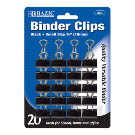 Small Binder Clips