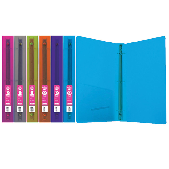 "Cheap 1"" 3 Ring Binders with Pocket"