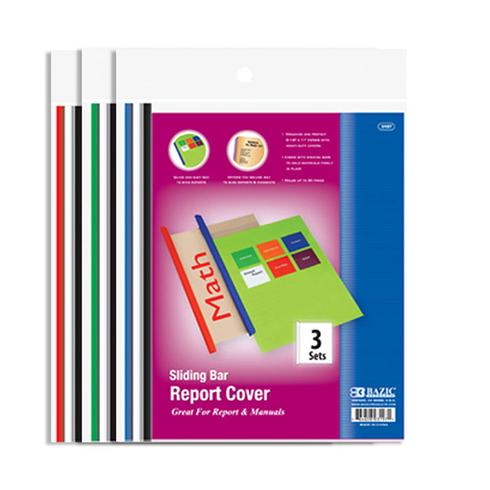 Cheap Clear Front Report Covers