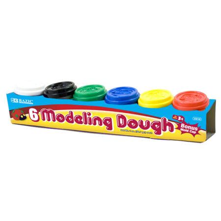 6 pack modeling dough