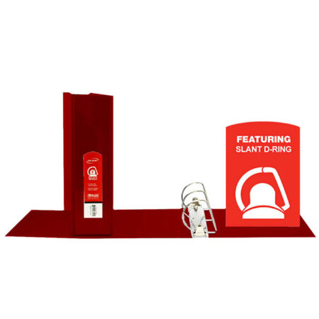 """Cheap 3"""" Slant D-Ring Binders with 2 Pockets"""