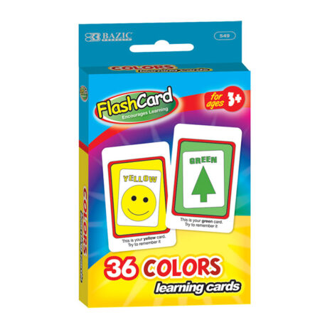 Cheap Flashcards Learning Colors