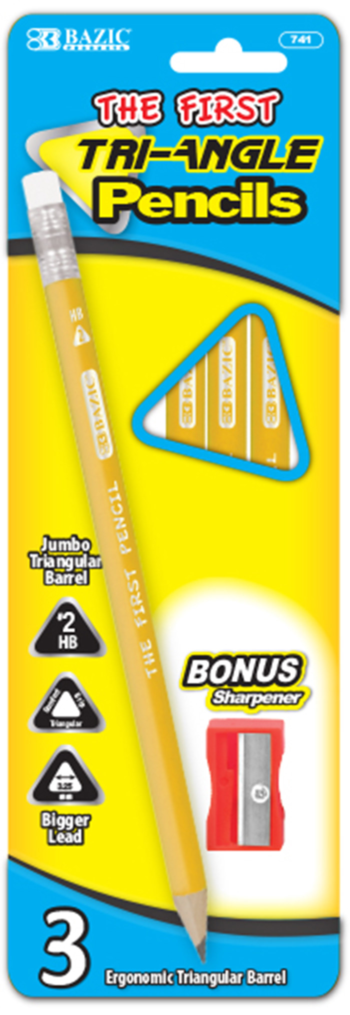 cheap triangle first pencils
