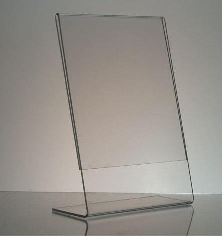 Clear acrylic photo frames