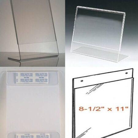 Acrylic Photo Frames-Document Holders