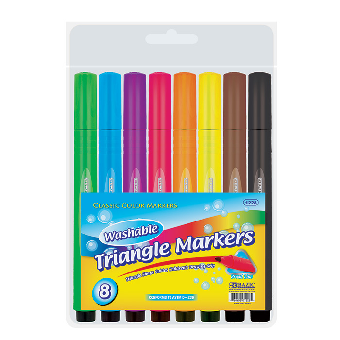 Cheap Jumbo Triangle Washable Markers