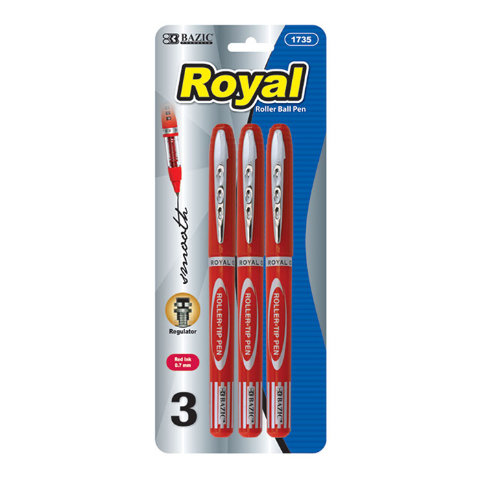 Cheap roller ball pen 3 pack