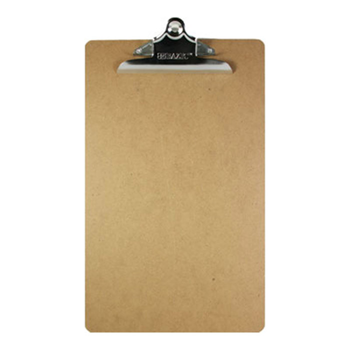 legal size wood clipboard