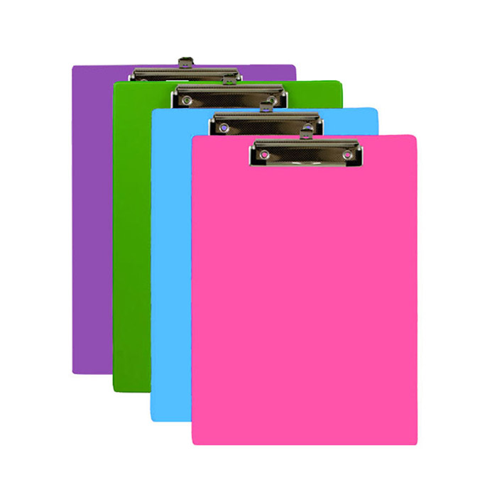 wholesale standard clipboards bright colors