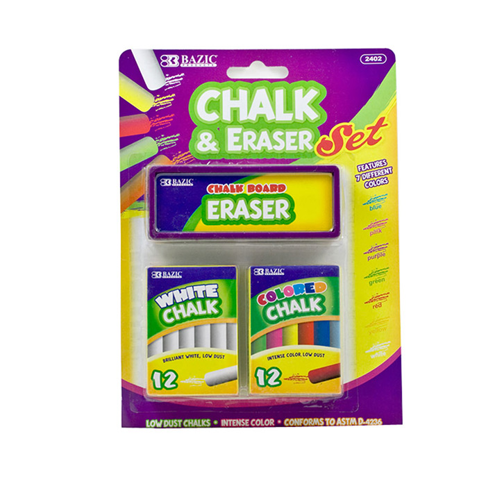 wholesale chalk and eraser