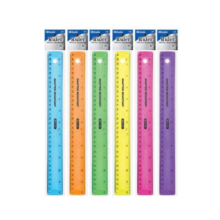 Cheap plastic rulers