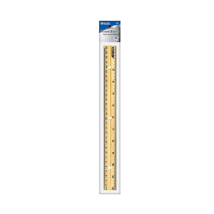 Cheap wooden ruler