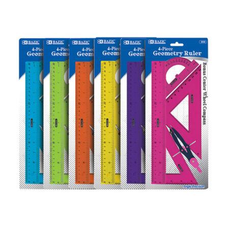 Cheap Geometry Rulers