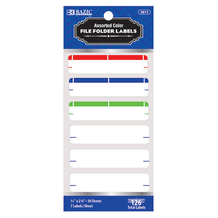 Cheap File Folder Labels