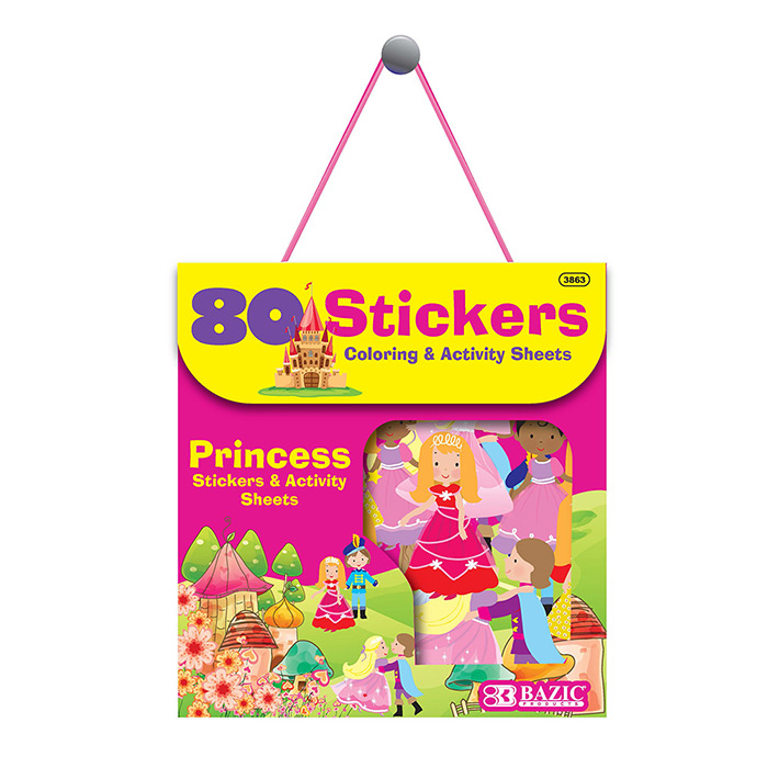 Cheap Princess Sticker Book