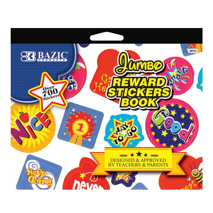 Cheap Jumbo Reward Stickers