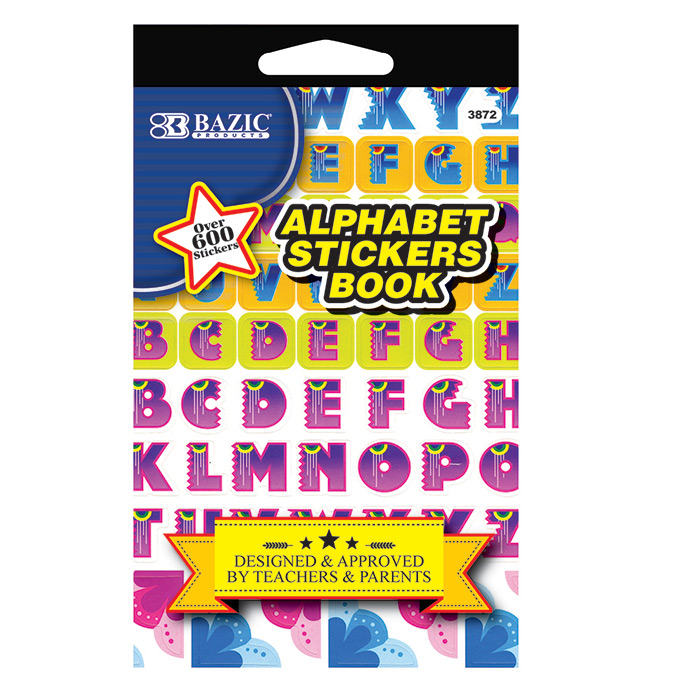 Cheap Alphabet Stick Book