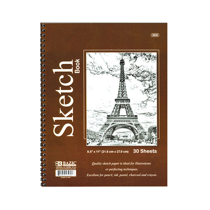 Cheap Sketch Books Spiral Bound