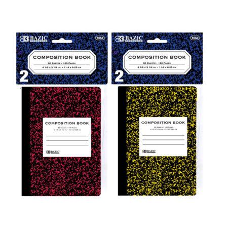 Cheap Mini Marble Composition Books