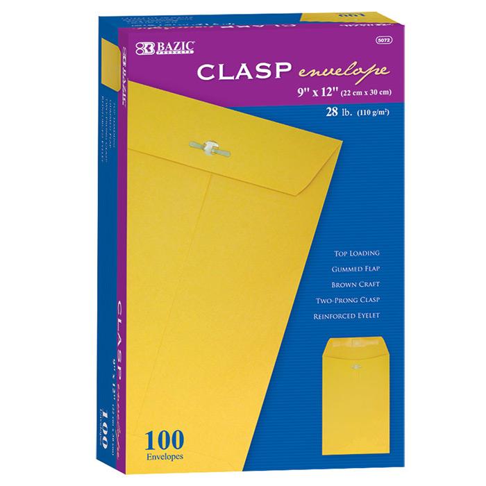 Cheap clasp envelopes