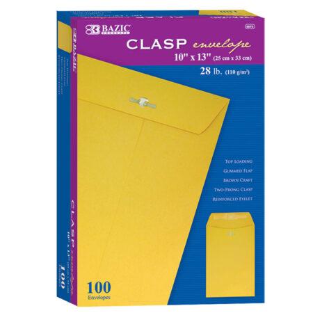 Cheap Clasp Envelopes - 100 per box