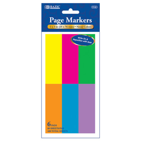 Wholesale Neon Page Markers