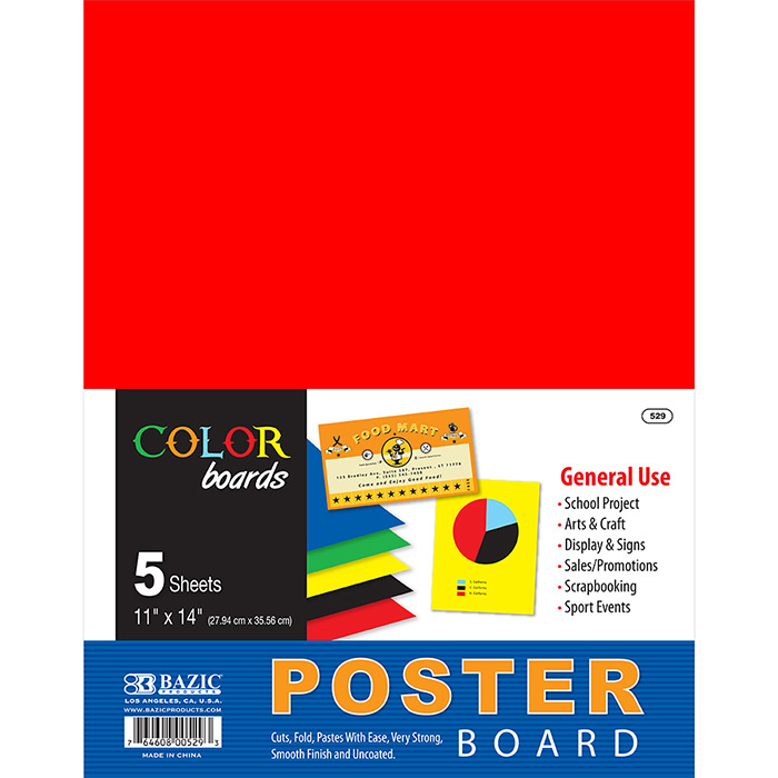 Cheap Poster Board 5 Pack