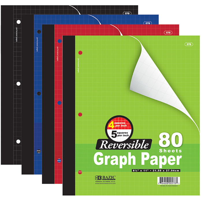 Cheap graph paper notebook