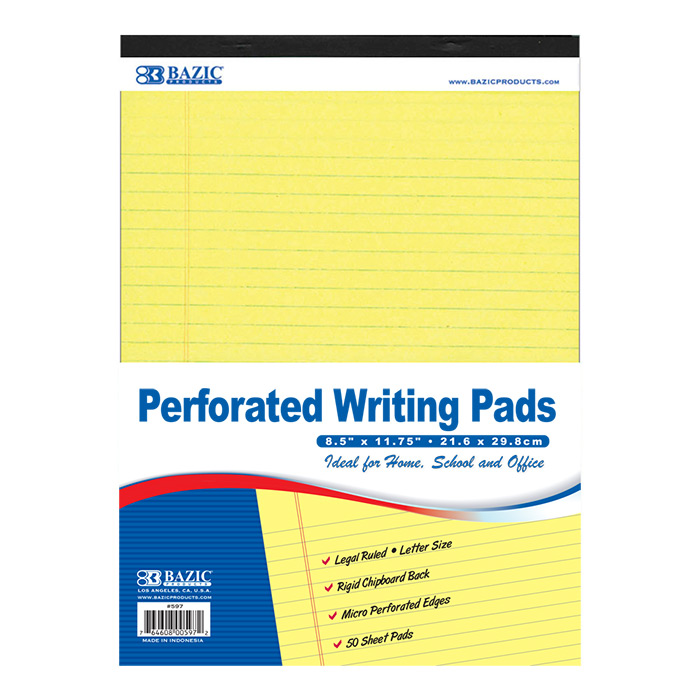 Cheap yellow memo pads