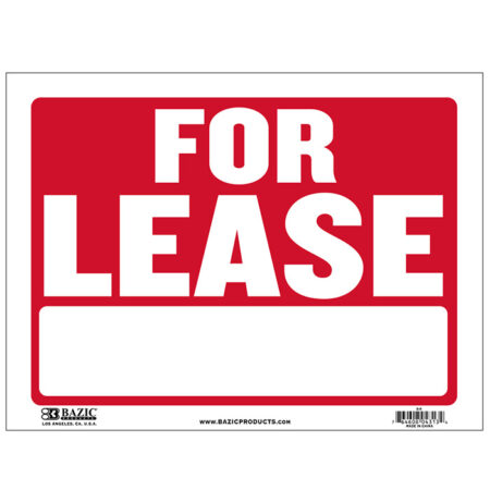 cheap for lease signs