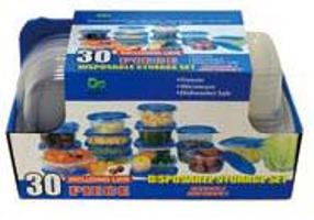 Disposable Storage Set-30PC