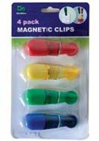 Magnetic Clips 4 Pack