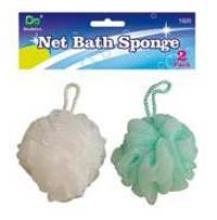 Net Bath Sponges-2 Pack