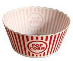 Round Popcorn Tub Dia. 10.5