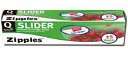 Sider Freezer Bags 1 Quart - 15 PC