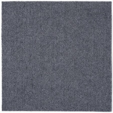 smoke color carpet tile-gray