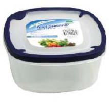 Square Container with Soft Seal Lid 64oz