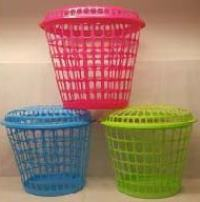 Tall Round Laundry Hamper with Lid