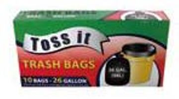 Trash Bags 26GAL - 10CT