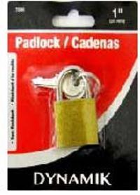 1 inch (25MM) PADLOCK