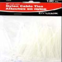 4 inches CABLE TIES 120 PC