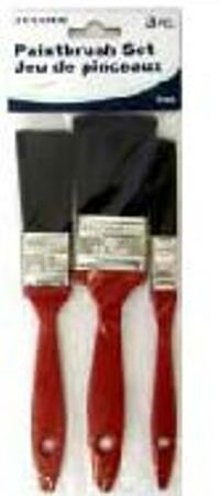 ASSORTED PAINTBRUSH 3PC