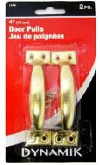 DOOR PULLS 4 INCHES 2PC