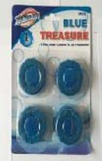 Toilet Bowl Cleaner and Air Freshener-blue treasure