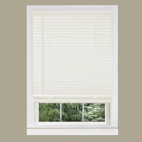 Vinyl Mini Blinds-Alabaster-Off White-Cheapest Price