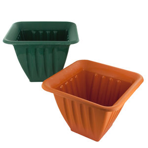 plastic square flower pot
